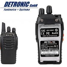 Retevis H777 Handfunkgerät 16CH CTCSS / DCS UHF 5W Funksprechgerät