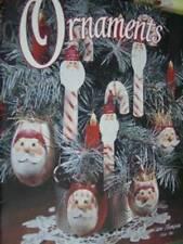 Ornaments Painting Craft Book By E. Thompson Santas, Gingerbread, Snowmen