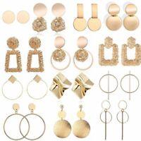 Geometric Dangle Earrings Statement Fashion Earring Eardrop Studs Womens Jewelry