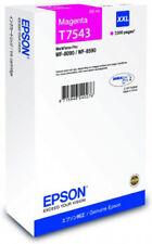 Original Epson Tinte Patronen T7543 XXL WorkForce Pro WF-8090 WF-8590 Magenta