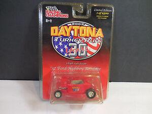 Racing Champions 32 Ford Highboy Roadster 30yr Daytona Turkey Rod Run Die Cast