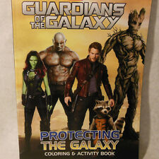 Marvel Guardians of the Galaxy Protecting the Galaxy Coloring Activity Book Gift
