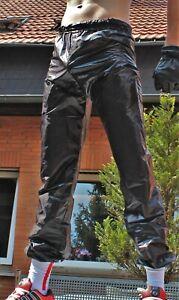 RODSPOT Glanznylon Hose ultradünn shiny Nylon Pants wetlook thin fabric