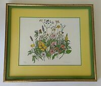 Framed Limited Edition Print. ''Wildflowers''