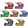 WULFSPORT CUB FLITE Motocross MX Crash casco bambini Junior PITBIKE quattro