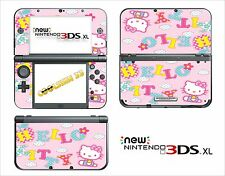 SKIN STICKER AUTOCOLLANT - NINTENDO NEW 3DS XL - REF 81 KITTY