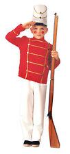Wooden Soldier Child Costume - Medium ( Size 8-10 ) 10030