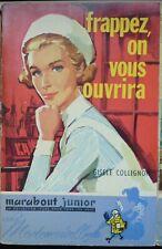 Marabout Mademoiselle 037 - Frappez, on vous ouvrira - Gisèle Collignon