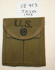 "WWII M1 Carbine Stock Pouch,""T.F.S.Co.1943"" New Orig.USGI - #KE453"