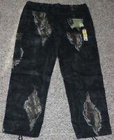 NEW Mens Cargo Pants MOSSY OAK Break-Up ECLIPSE Camo Sz M L XL XXL XXXL Hunting