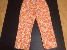 TOMMY HILFIGER  Capri Pants Size 10 floral print ,cotton  Nice !