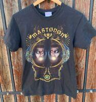 Mastodon 2009 Bret Hinds Heavy Metal Concert Tour Dates T Shirt Small