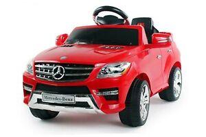Lizenz Elektro Kinderauto Mercedes ML350 | 6V | 1x25W Motor RC Elektroauto Kinde