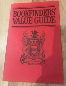 Bookfinders' Value Guide 51st Edition - Printed 1971