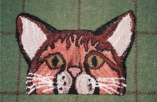 """Punchneedle Pattern by Country Threads  """"Pretty Kitty"""""""