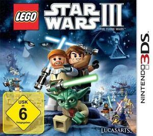 Nintendo 3DS Spiel - Lego Star Wars 3: The Clone Wars mit OVP