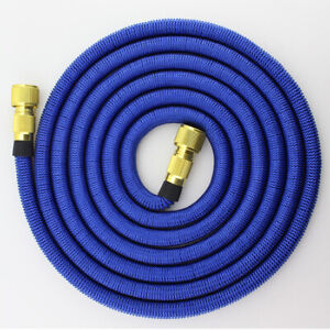 Expandable Garden Hose Pipe Retractable Watering 3X Tube Heavy Duty Latex