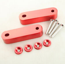 Red Hood Spacer Risers Set Kit Fit For 90-01 Acura Integra Honda Civic CRX