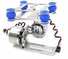 2 Axis Aluminum Brushless Camera Mount Gimbal for DJI Phantom Gopro 2 3 W/ motor