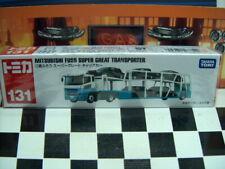 TOMICA #131 MITSUBISHI FUSO SUPER GREAT TRANSPORTER NEW IN BOX