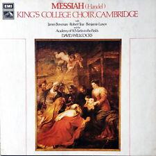 DAVID WILLCOCKS / Handel Messiah / EMI HMV Post-Dog SLS 845 3LP