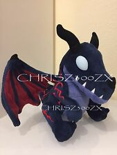 Blizzcon 2016 World of Warcraft Nightmare Whelpling Plush Dragon Pet - Variant