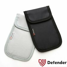 Defender Signal Blocker Mobile phone blocking signal jamming pouch RPF Grey
