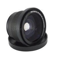 NEW 52MM Supper 0.35x Fisheye Macro Lens for Nikon D5200 D5100 D3200 D3100 D7000