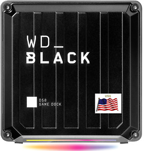 WD PS4 PS5 XBOX PC Mac D50 Game Dock NVMe SSD Solid State Drive RGB 3,000 MB/s