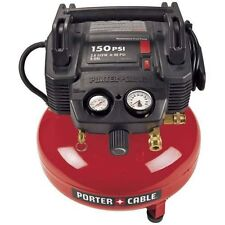 Porter-Cable 6 gallon  c2002 150 psi pancake air compressor with warranty