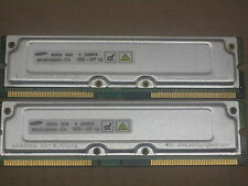 512MB 2x256MB Samsung RDRAM Rambus PC1066-32 Dell 8250