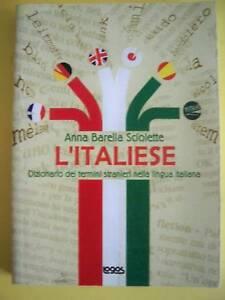 SCIOLETTE BARELLA ANNA*L'ITALIESE LOGOS 2002
