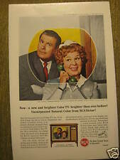 Color T.V. ad w/Hazel Shirley Booth March 1964