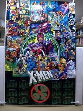 JIM LEE & Scott Williams: X-Men Poster Calendar 1992 (Collage) (USA)
