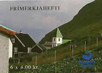 FAROE ISLANDS BOOKLET : 1992 Postal Cooperation SG SB7 unmounted mint