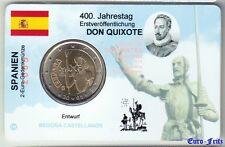 Coincard  2 Euro  2005  Spanien  Don Quixote   PREMIUM