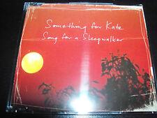 Something For Kate Song For A Sleepwalker Rare Australian CD Single