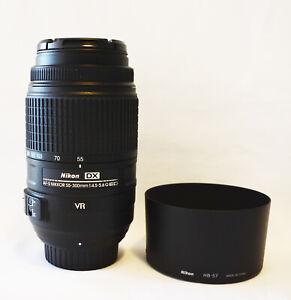 Nikon 55-300mm f/4.5-5.6 ED VR DX G Lens - New