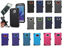 For Samsung Galaxy Note 5 Case,Defender Cover With Screen & Clip Fit OTTERBOX
