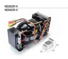 GRUPPO REFRIGERANTE UNITA SECOP ND35 OR-V 12V 24V BD35F + GIUNTI RAPIDI FRIGOR