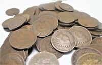 1/2 Roll Indian Head Cent Pennies (25 Coins) 1859-1909 Circualted