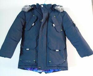 Ted Baker Boys Navy Blue Coat Age 6 Years Parka