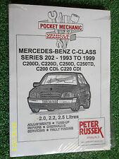 MERCEDES BENZ C-CLASS DIESEL C200D C220D C250D C250TD +200 220CDi MANUAL 93-99