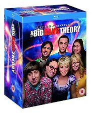 Big Bang Theory Complete Series 1 2 3 4 5 6 7 8 Blu Ray Seasons Set Sealed Uk Re