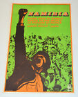 Political cuban Poster.OSPAAAL Power to People.1986 ORIGINAL & Rare.African art