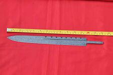 custom hand-forge damascus steel sharp scottish dirk dagger blank blade knife #3