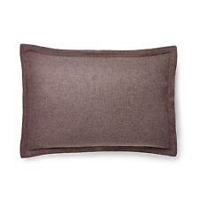 PAIR Ralph Lauren ~ Great Compton Riverport ~Purple Wool 2 Standard Pillow Shams