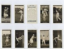 Full Set, Churchman, Lawn Tennis 1928 EX (Ga3106-442)