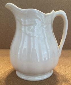 "Ironstone Royal Staffordshire Pottery Wilkinson Ltd England Pitcher Wheat 4-3/8"""