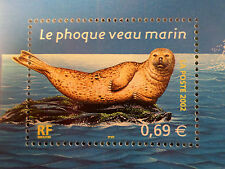 FRANCE 2002, timbre 3488, POISSONS, PHOQUE, neuf**, MNH FISH SEAL